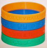 Volleyball Wristbands   --  Click to enlarge